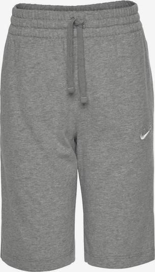 Nike Sportswear Bikses pieejami raibi pelēks / balts, Preces skats