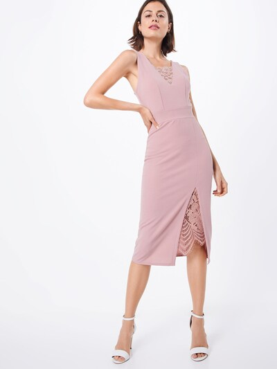 WAL G. Robe de cocktail en rose: Vue de face