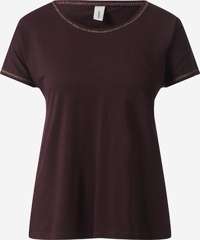 Soyaconcept Shirt 'MARICA' in kastanienbraun / gold, Produktansicht