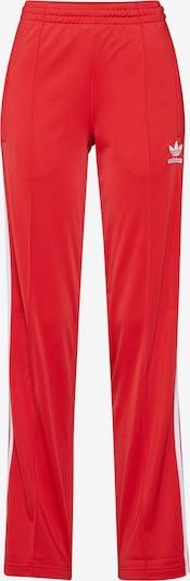 ADIDAS ORIGINALS Hose 'FIREBIRD TP' in rot / weiß, Produktansicht