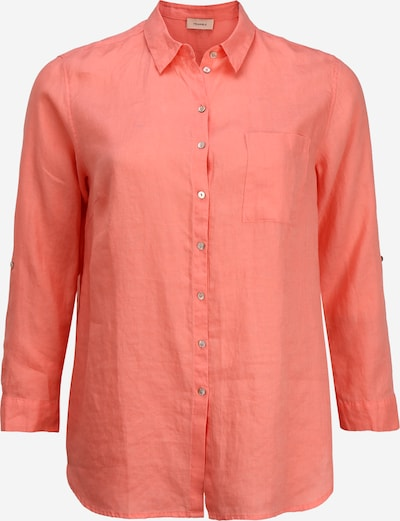 TRIANGLE Bluse in pink: Frontalansicht