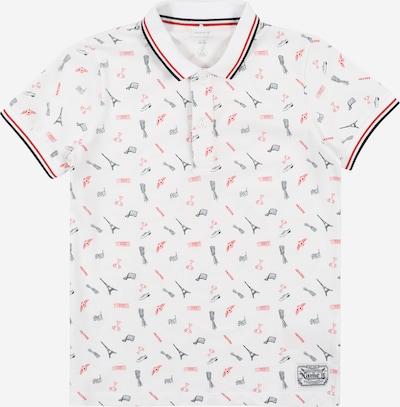 NAME IT Majica 'Kuakata' u crvena / crna / bijela, Pregled proizvoda