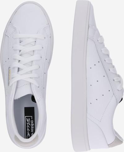 ADIDAS ORIGINALS Sneaker in weiß: Seitenansicht