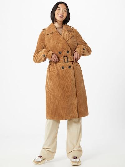 VERO MODA Trenchcoat 'Toni' in dunkelbraun, Modelansicht