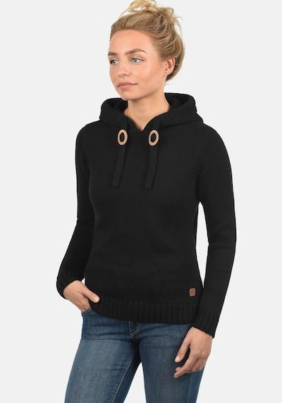 Desires Strickpullover 'Pita' in schwarz, Modelansicht