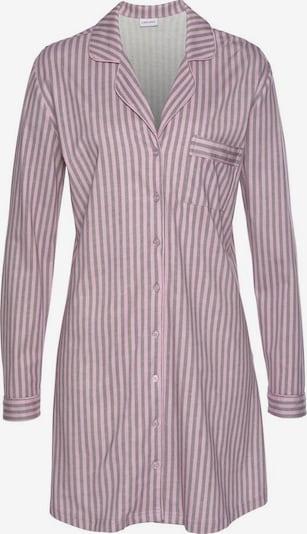 LASCANA Nachthemd in grau / rosa, Produktansicht