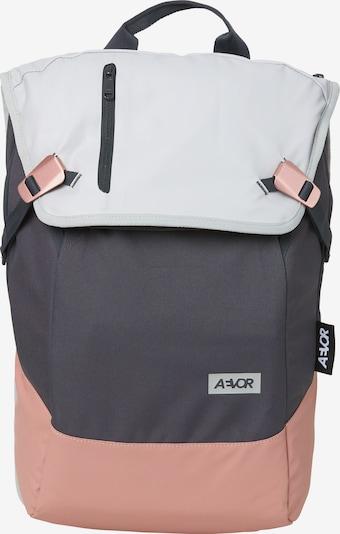 AEVOR Tagesrucksack 'Daypack' in blau / navy / grau / pink, Produktansicht