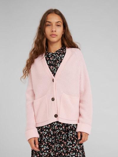 EDITED Strickjacke mit Kaschmiranteil 'Lamis' in pink, Modelansicht