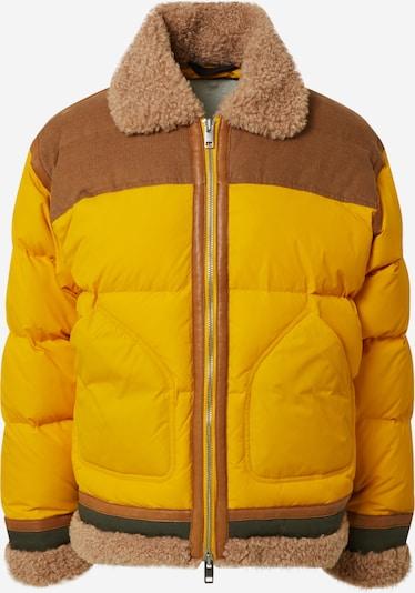 DIESEL Jacke 'W-EVAN-A' in gelb, Produktansicht