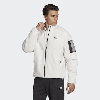ADIDAS PERFORMANCE Jacke in schwarz / weiß: Frontalansicht