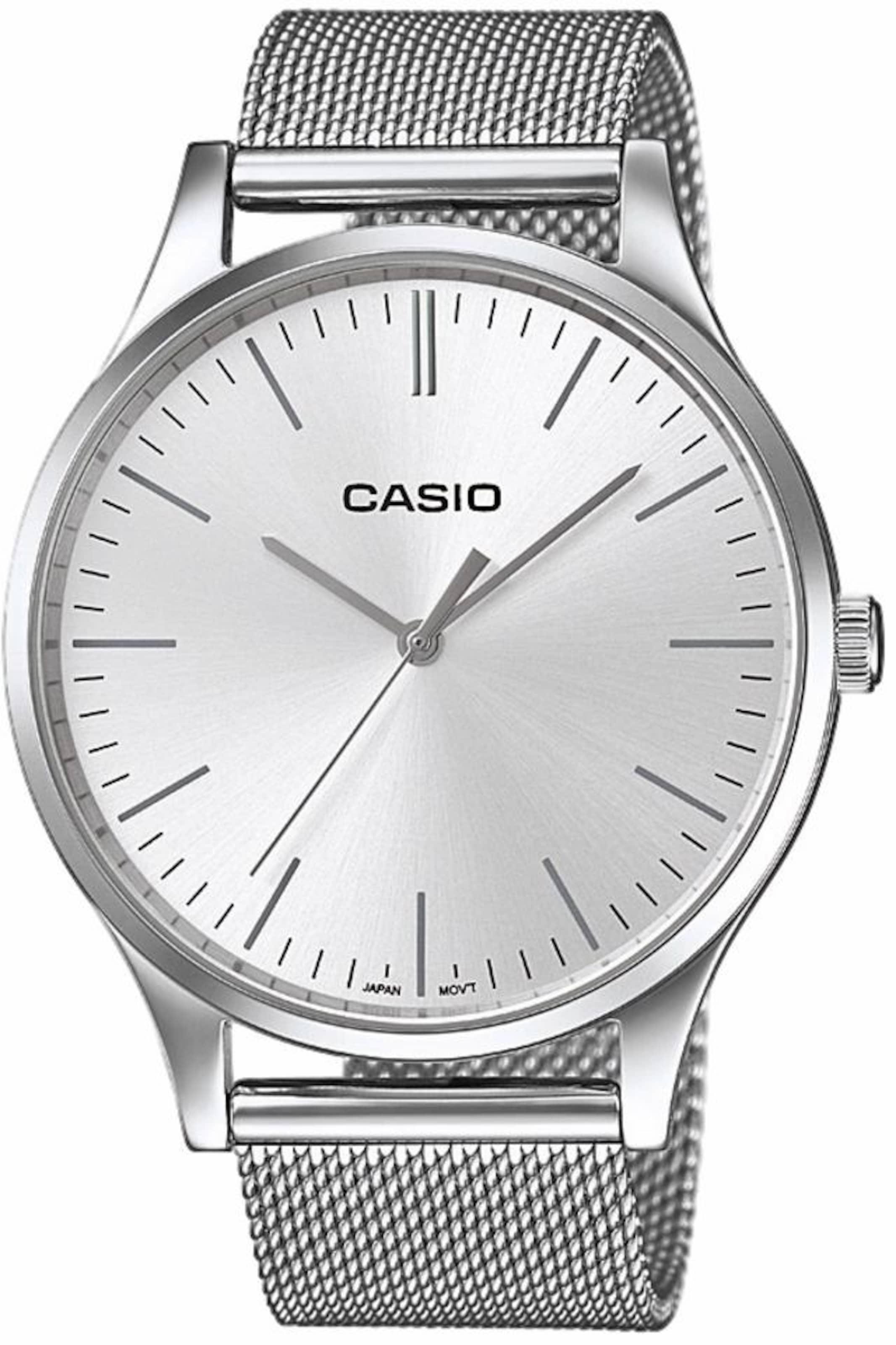 CASIO Collection Quarzuhr 'LTP-E140D-7AEF' Bester Großhandel Günstig Online Kaufen Wirklich Billig Auslass Echt 12lbUSR
