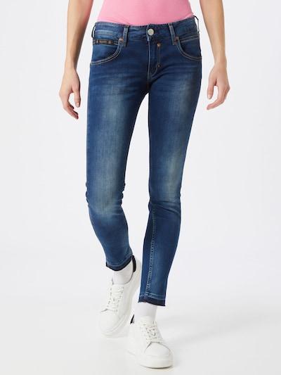 Herrlicher Jeans 'Touch Cropped Denim Powerstretch' in nachtblau, Modelansicht