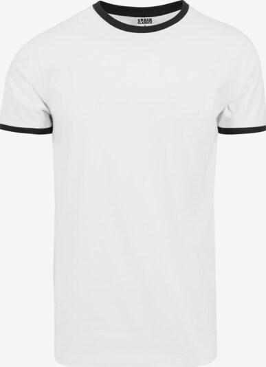 Urban Classics T-Shirt Ringer Tee in weiß: Frontalansicht