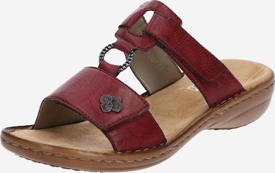 RIEKER Pantofle - tmavě červená, Produkt