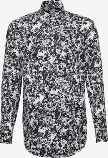 Jacques Britt Hemd in nachtblau / weiß, Produktansicht
