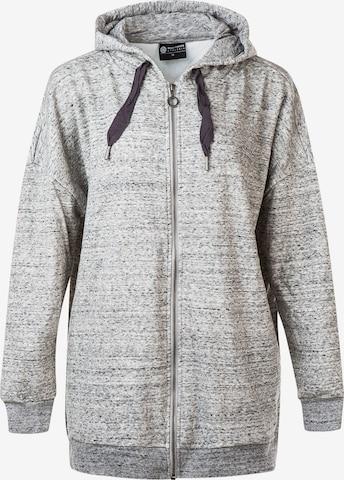 Athlecia Athletic Zip-Up Hoodie 'Bola' in Grey