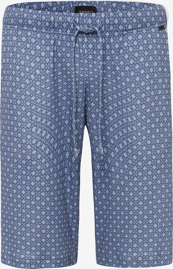 Hanro Pyjamahose in blau, Produktansicht