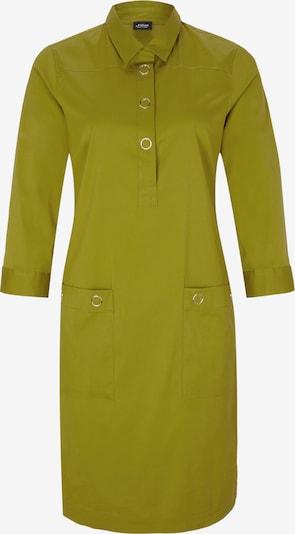 s.Oliver BLACK LABEL Hemdblusenkleid in oliv, Produktansicht