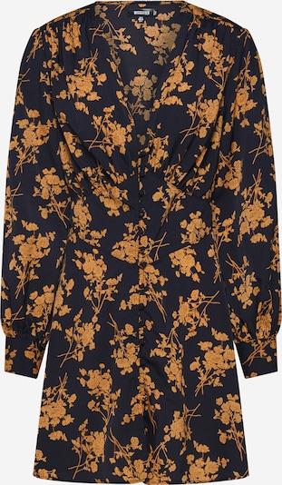 Missguided Blusenkleid in dunkelorange / schwarz, Produktansicht