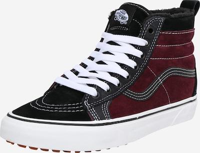 VANS Sneakers hoog in de kleur Bourgogne / Zwart / Wit, Productweergave