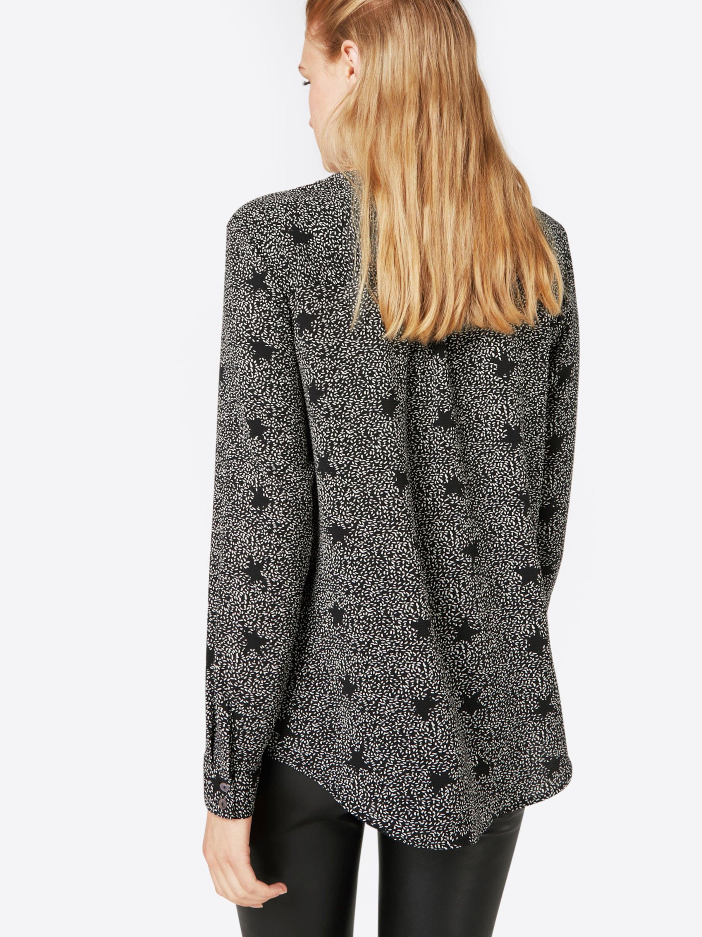 JACQUELINE de YONG Bedrucktes Langarmhemd Billig Verkauf Offiziell 91C2hv0PTK