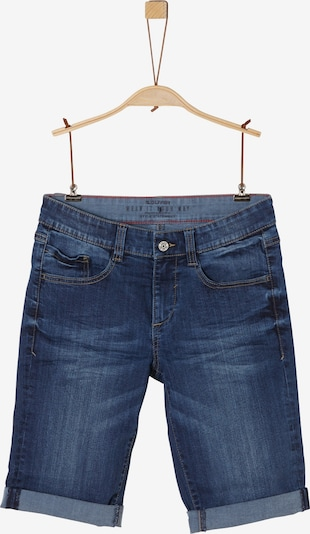 s.Oliver Denim-Shorts in blau, Produktansicht
