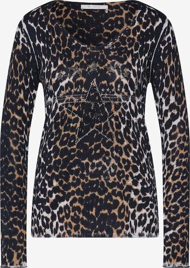 monari Pullover in braun / schwarz, Produktansicht