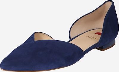 Högl Ballerina in blau, Produktansicht