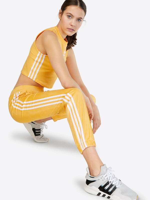 ADIDAS ORIGINALS Jogginghose in Goldgelb    Mode neue Kleidung e5778f