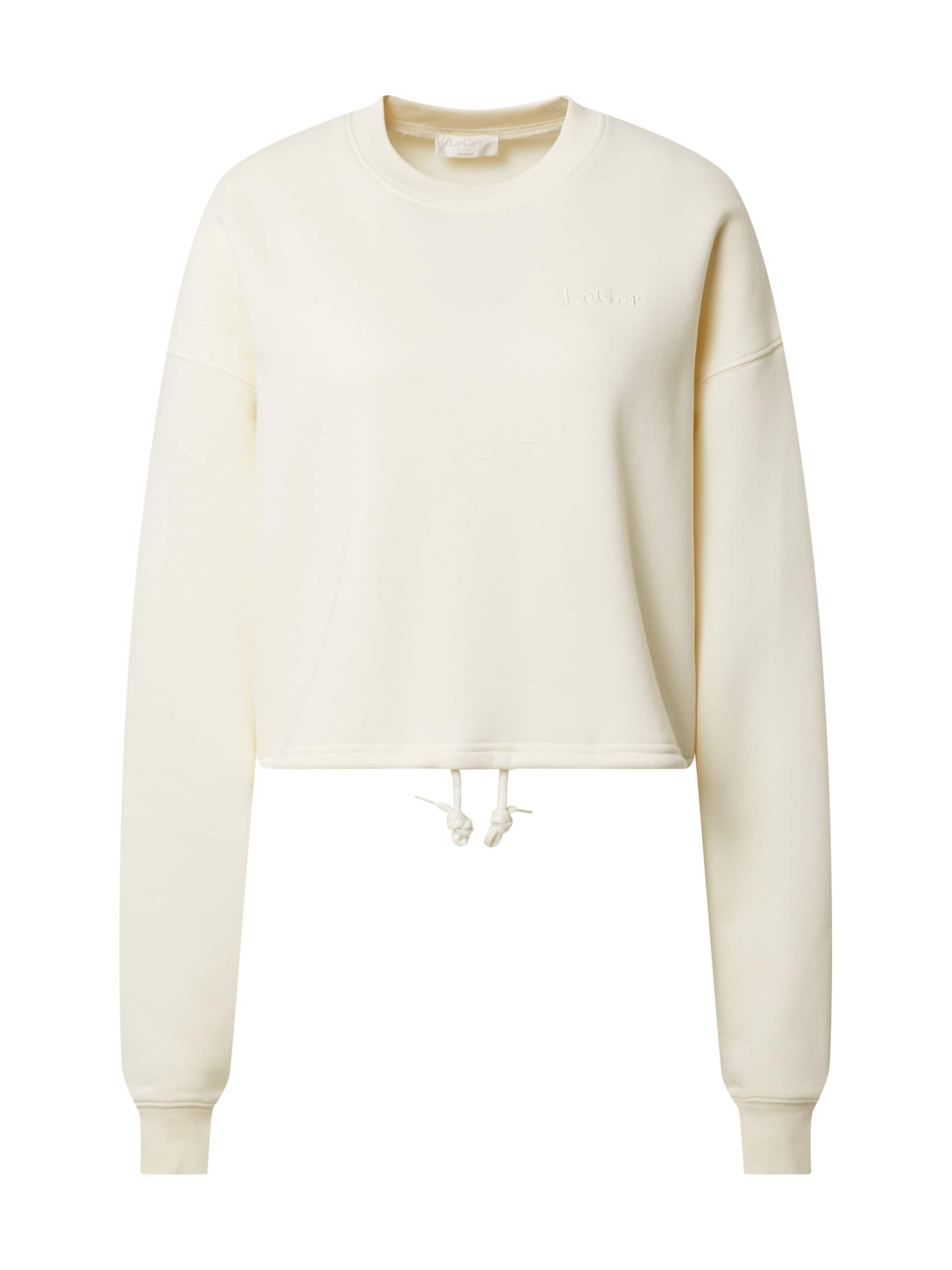 LeGer by Lena Gercke Sweatshirt 'Rosa' in beige