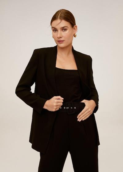 MANGO Blazer 'Leonora' in schwarz, Modelansicht