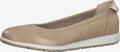 MARCO TOZZI Ballerines en beige, Vue avec produit