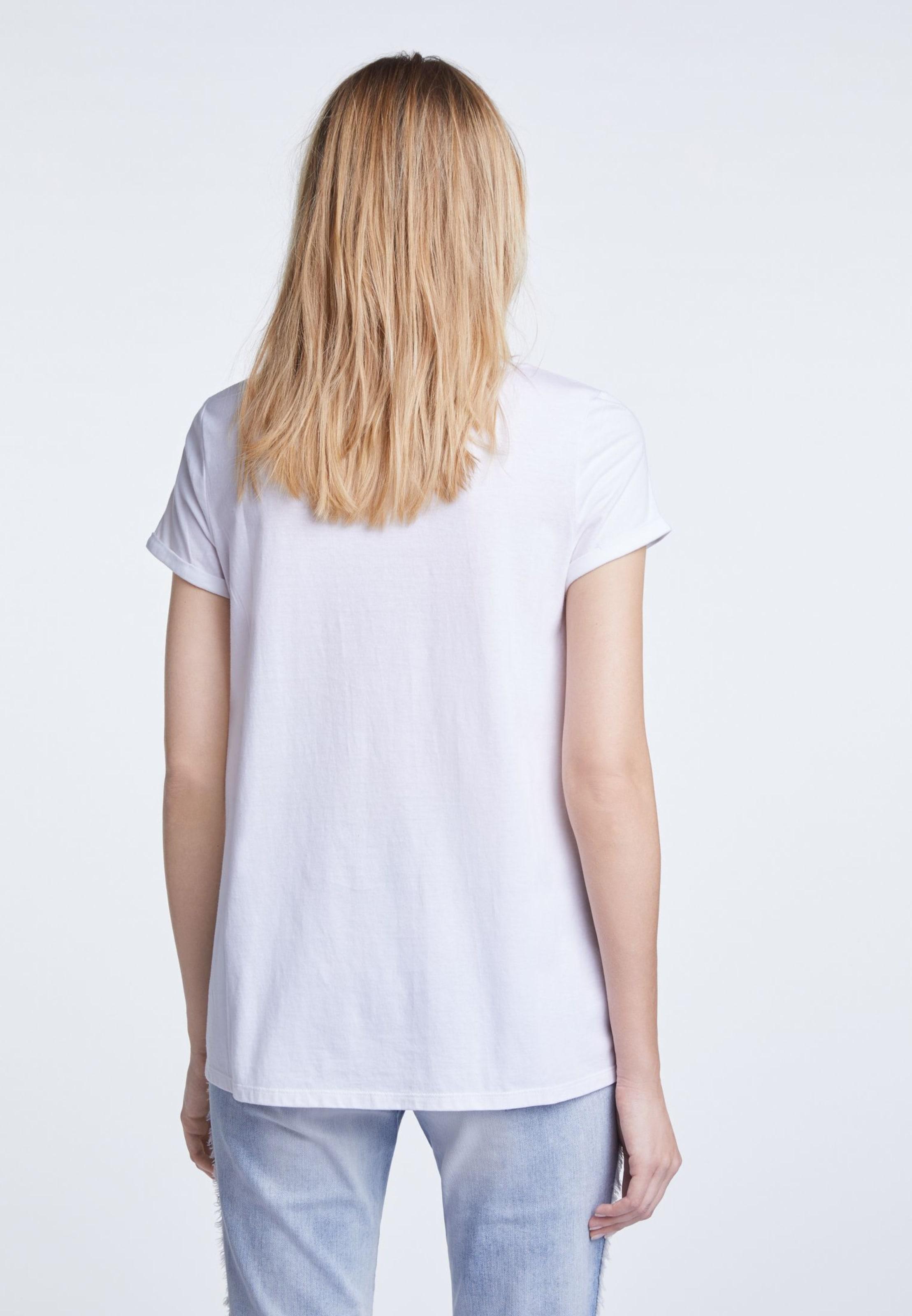 Oui In T MischfarbenWeiß shirt m0OynvNw8
