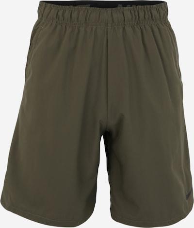 NIKE Pantalon de sport 'Flex' en kaki, Vue avec produit