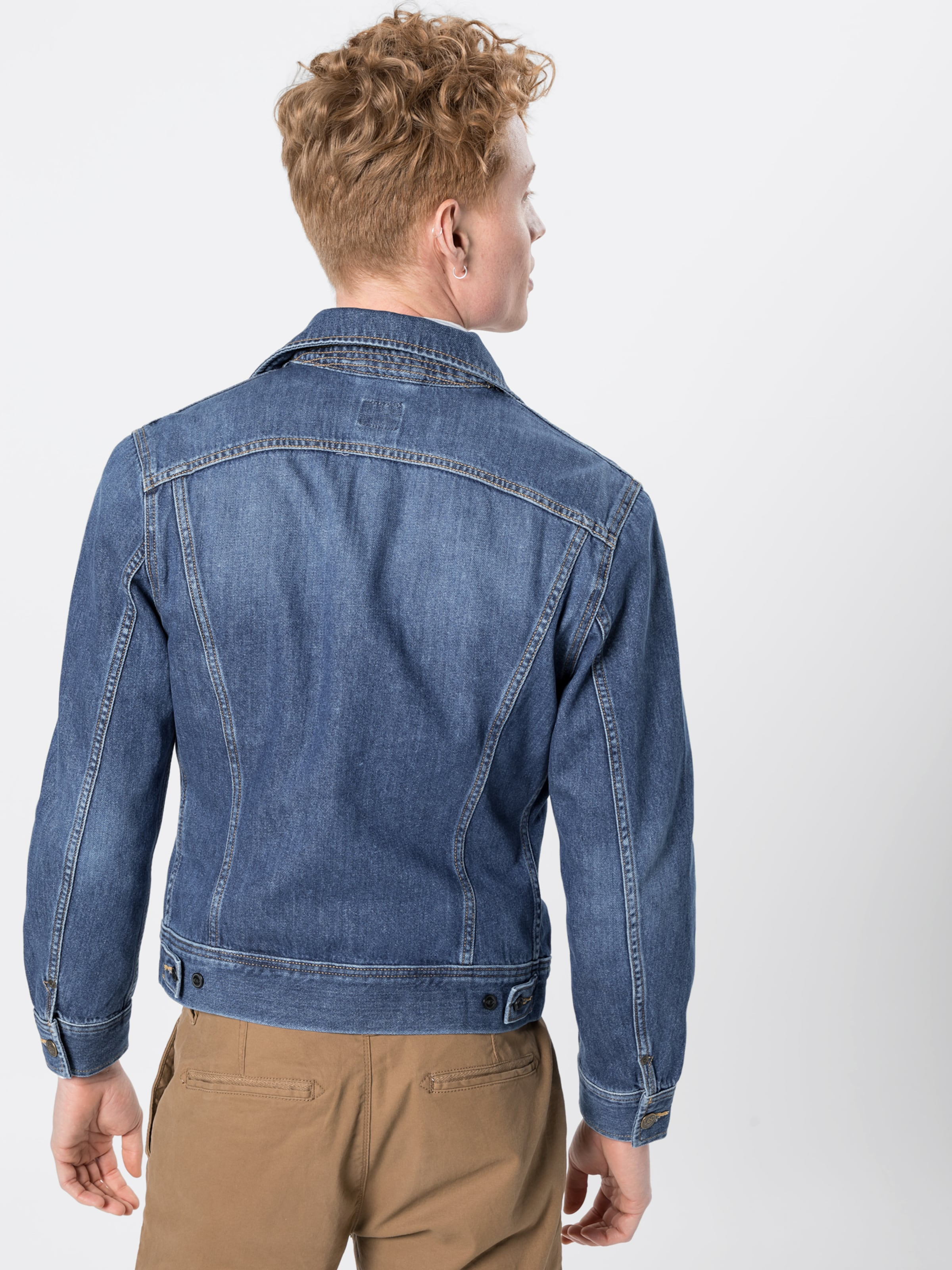saison Flick' Bleu Denim Mi 'slim En Rider Veste Lee R34qc5ALj