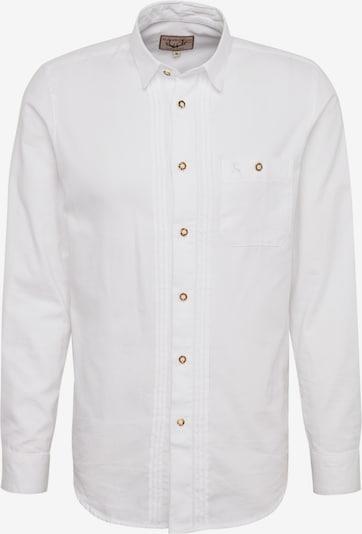 STOCKERPOINT Klederdracht overhemd 'Mika2' in de kleur Wit, Productweergave