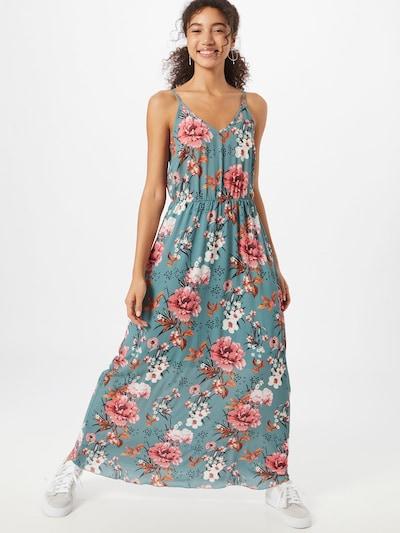 ABOUT YOU Letné šaty 'Shannon' - zelená / zmiešané farby, Model/-ka