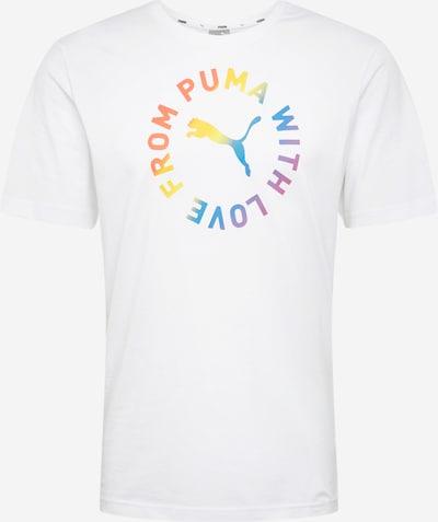 PUMA Särk 'Pride' segavärvid / valge: Eestvaade
