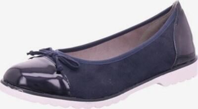 JANE KLAIN Ballerina in nachtblau, Produktansicht