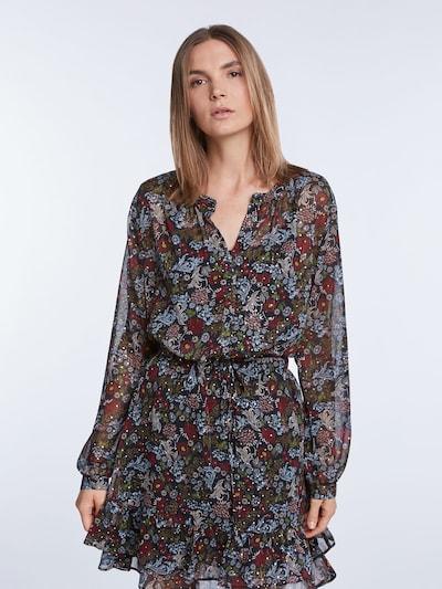 SET Bluse in mischfarben / schwarz, Modelansicht