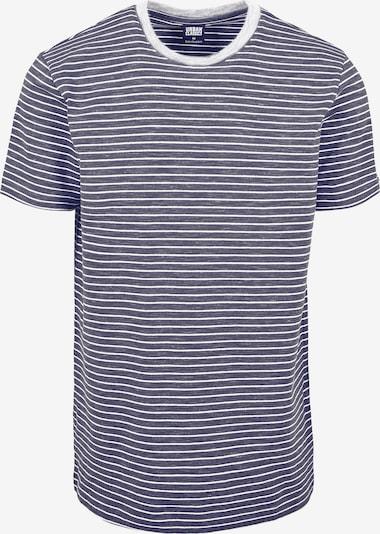 Urban Classics Majica | temno siva / bela barva, Prikaz izdelka