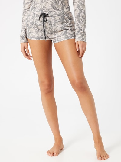 PJ Salvage Badeshorts 'Animal Instinct' in beige / grau, Modelansicht
