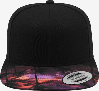 Flexfit Snapback ' Sunset Peak Snapback ' in mischfarben / schwarz, Produktansicht