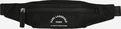 Karl Lagerfeld Torbica za okrog pasu 'Rue St Guillaume' | črna barva, Prikaz izdelka
