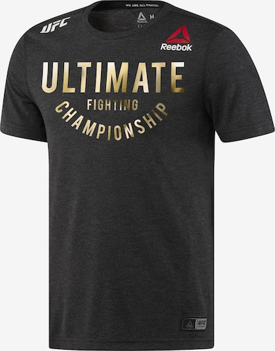 REEBOK Sport-Shirt 'UFC Fight Night Walkout' in schwarz, Produktansicht