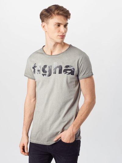 tigha T-Shirt in grau, Modelansicht