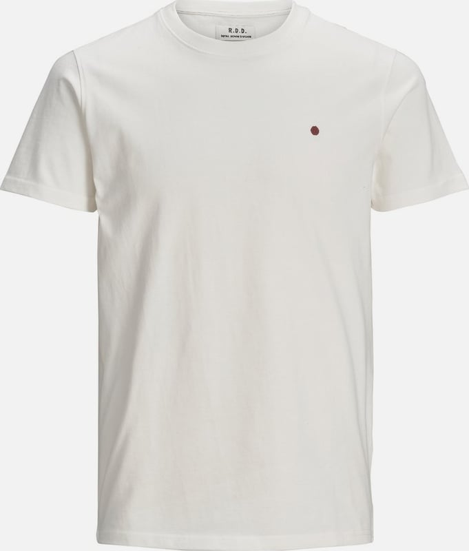 JACK & JONES T-Shirt in rot / weiß: Frontalansicht