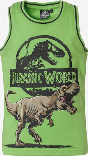 Jurassic World Shirt in grün / schwarz, Produktansicht