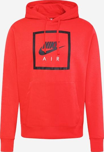 Nike Sportswear Sweatshirt ' AIR 5' in rot / schwarz, Produktansicht