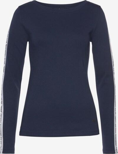 ARIZONA Langarmshirt in navy / weiß, Produktansicht